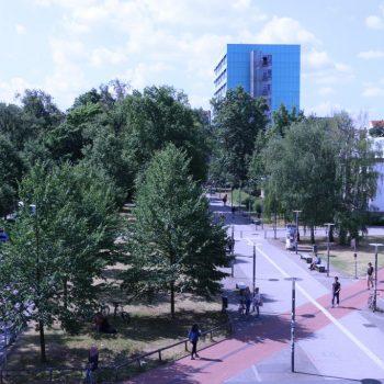 Blick über KIT-Campus