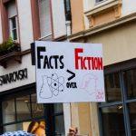 """Facts over Fiction""-Transparent"