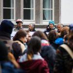 Gruppe von Menschen beim Science March