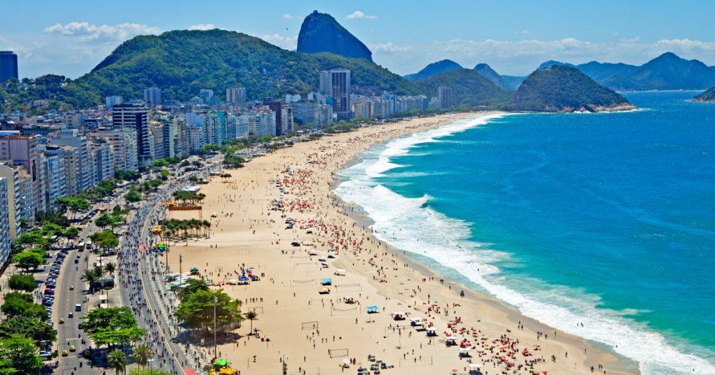 Strand an der Copacabana