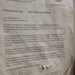 """Pressemitteilung """"Eule fliegt nach Hause"""""""
