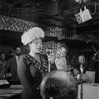 Sängerin Ella Fitzgerald