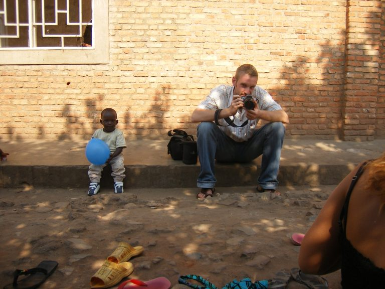 Philipp Ziser in Burundi