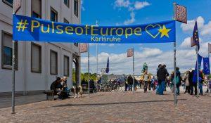 Demonstration Pulse of Europe