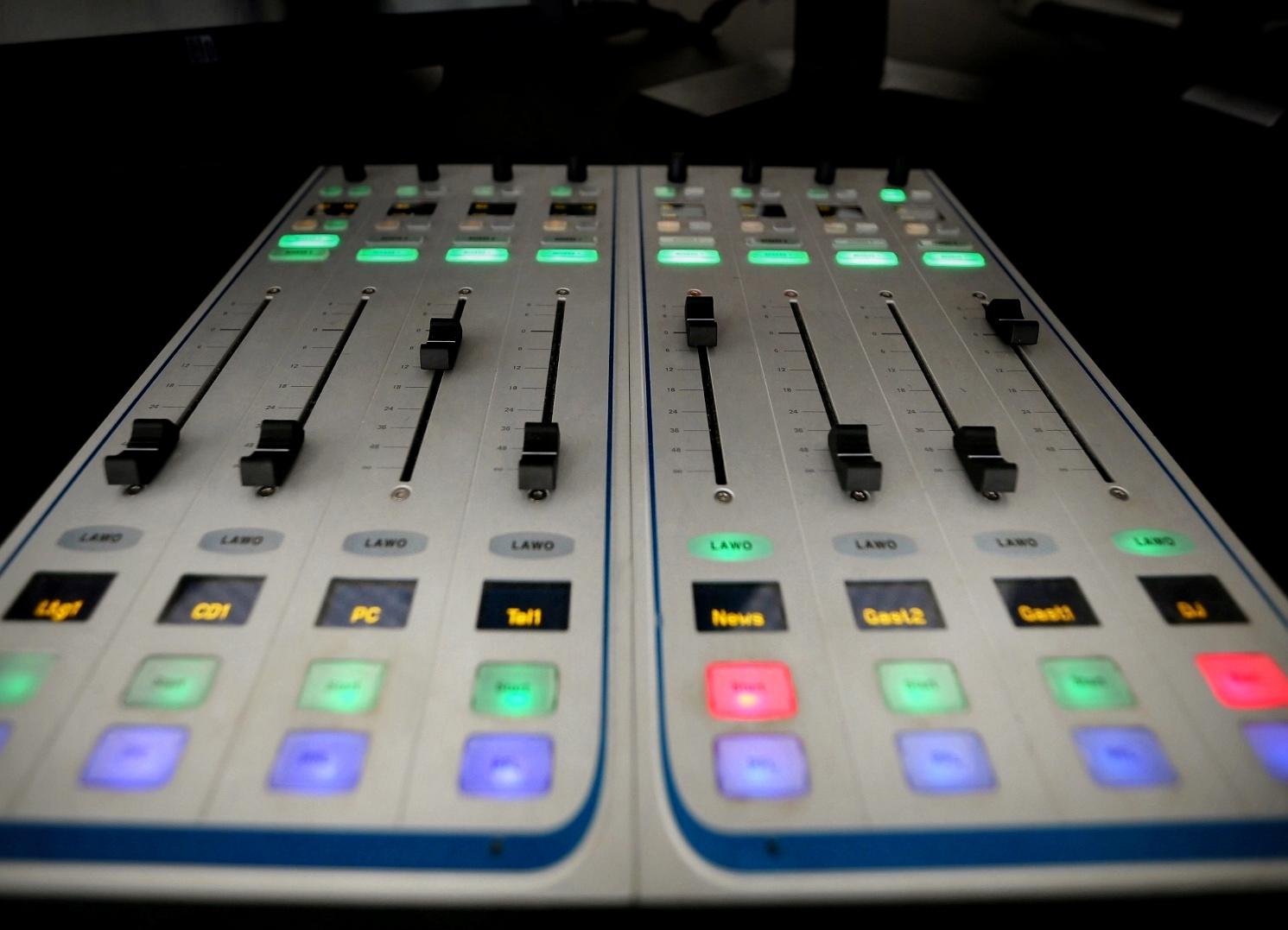 Radio Schieberegler