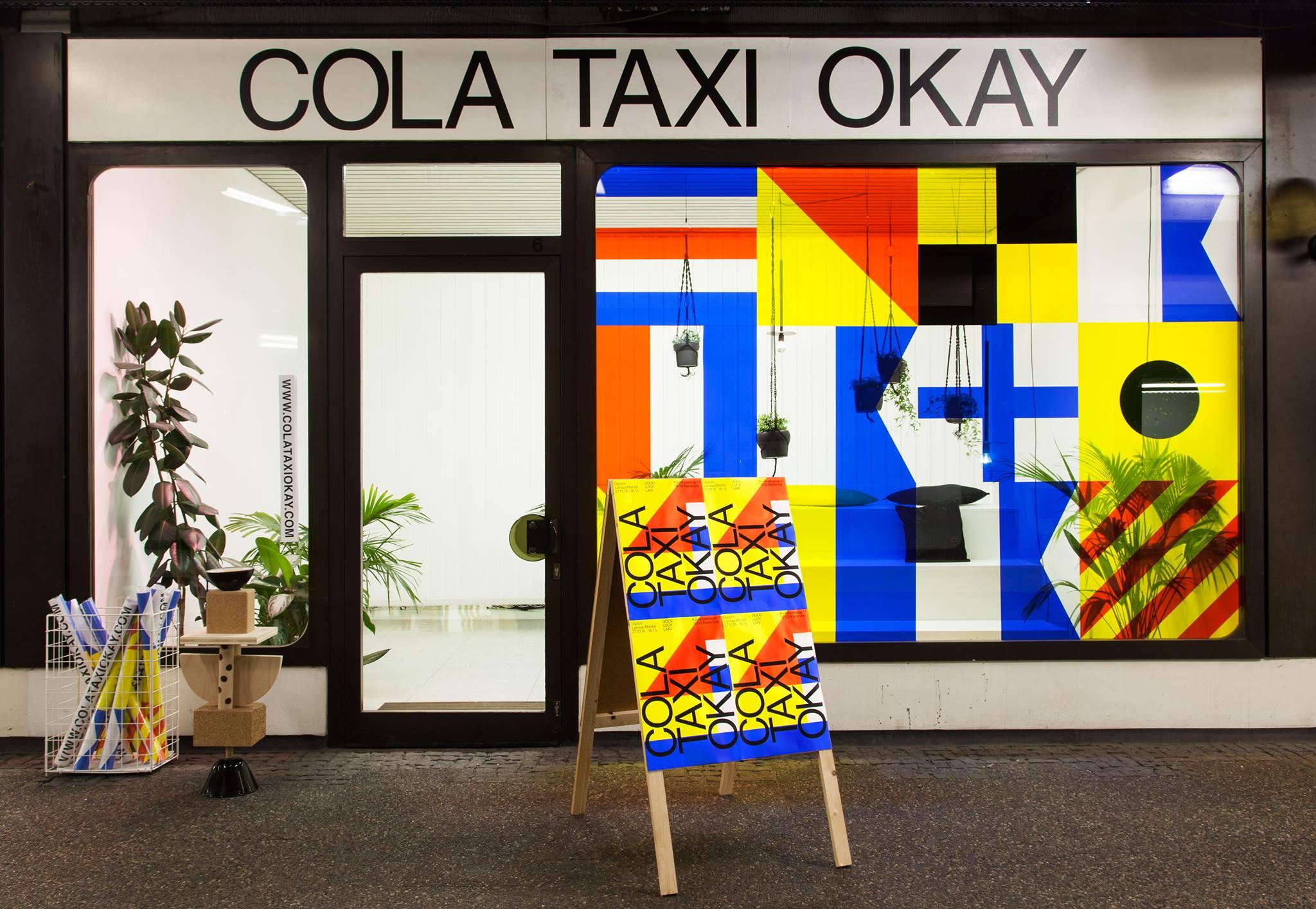 Projektraum COLA TAXI OKAY von außen