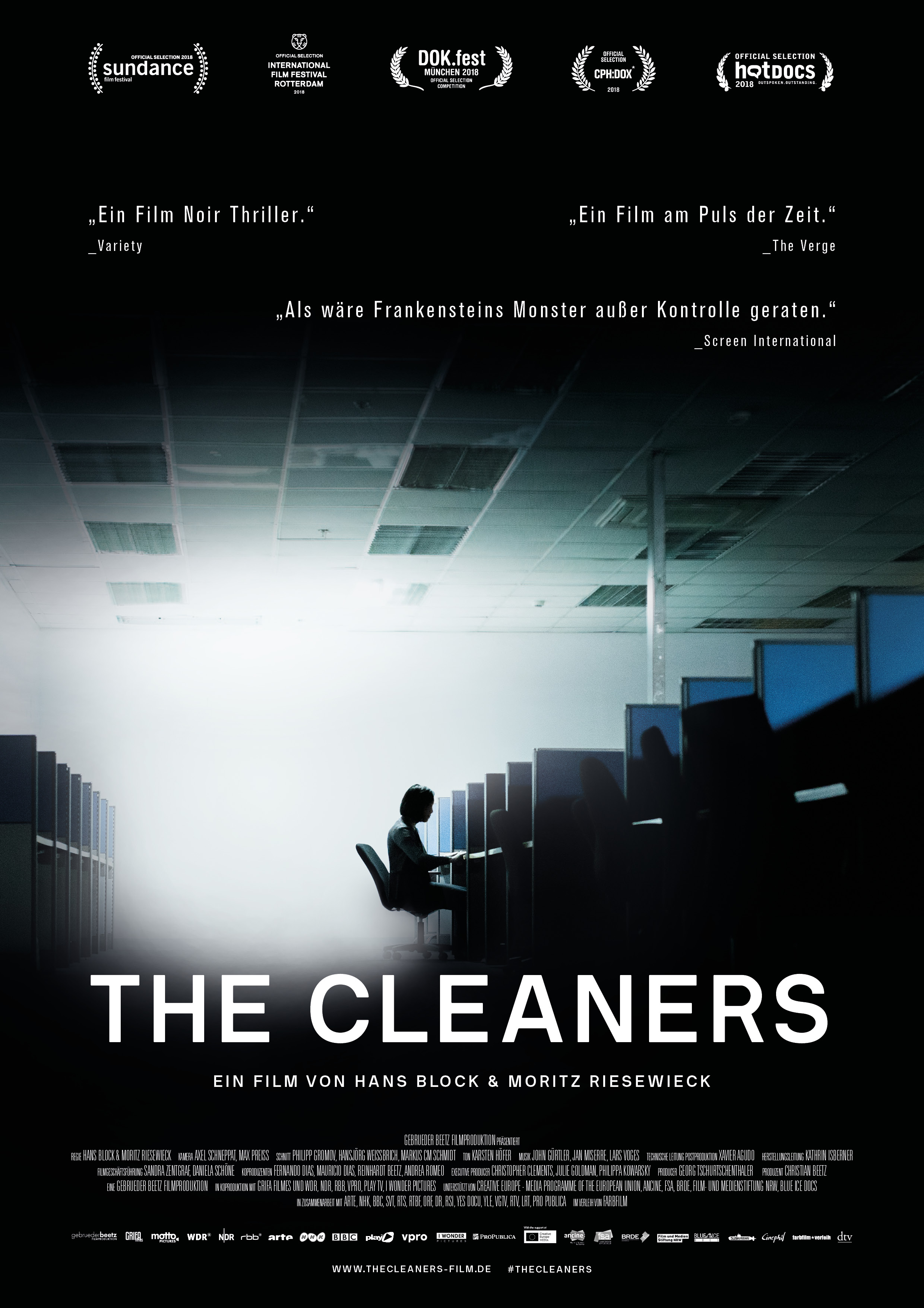 "Filmplakat ""The Cleaners"""