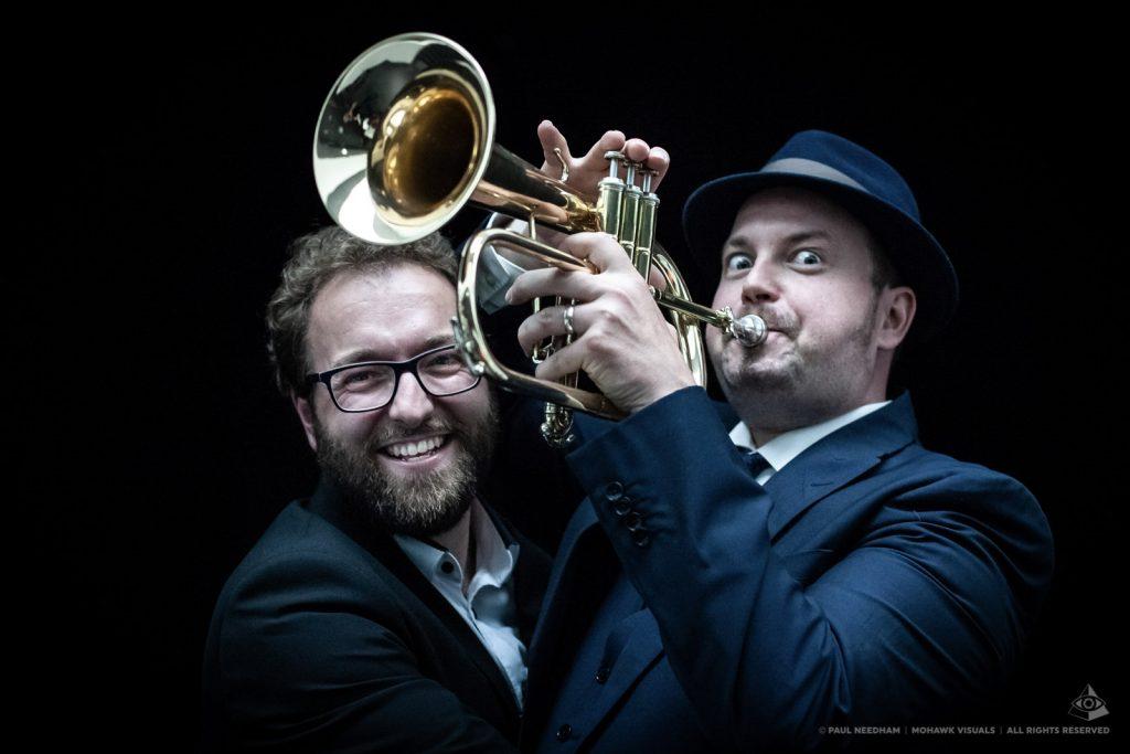 Sean Guptill und Steffen Schumacher