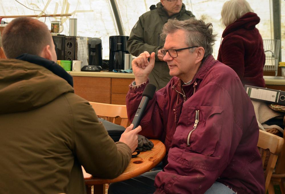 Interview mit Mitglied des Arbeitskreises Burg Wersau