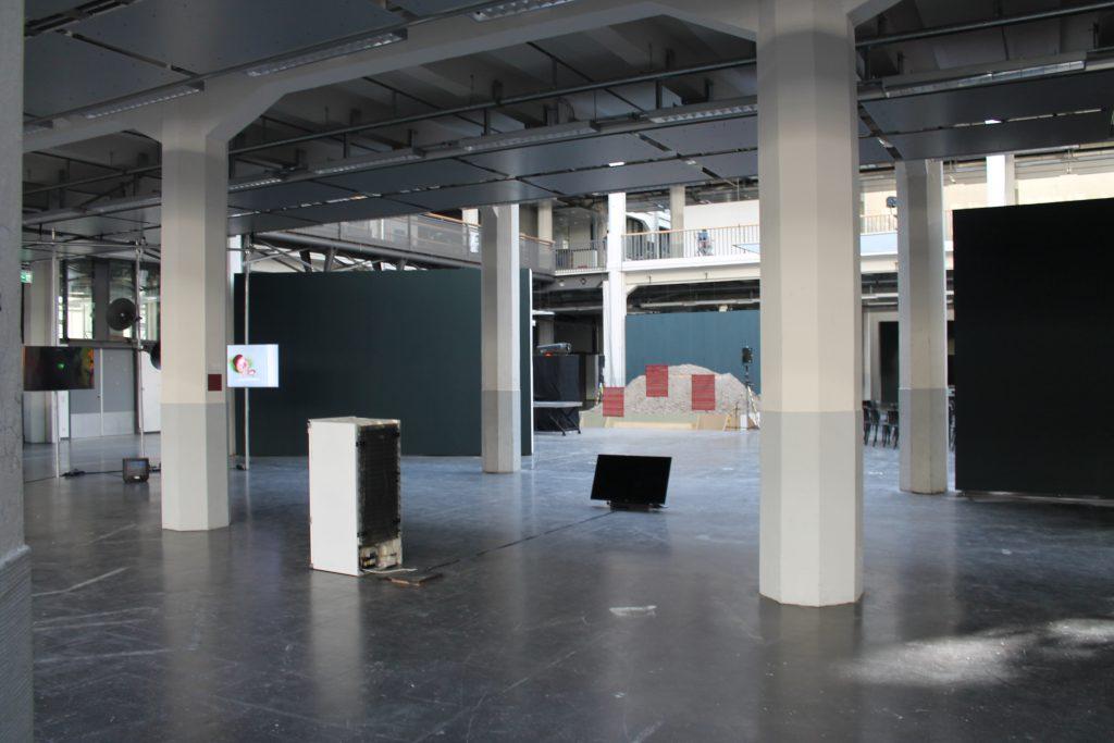 Halle in der Ausstellung
