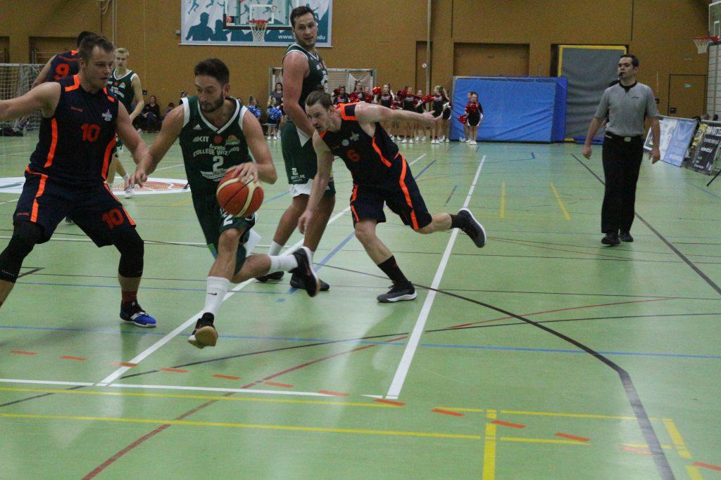 Basketballspieler im Spiel
