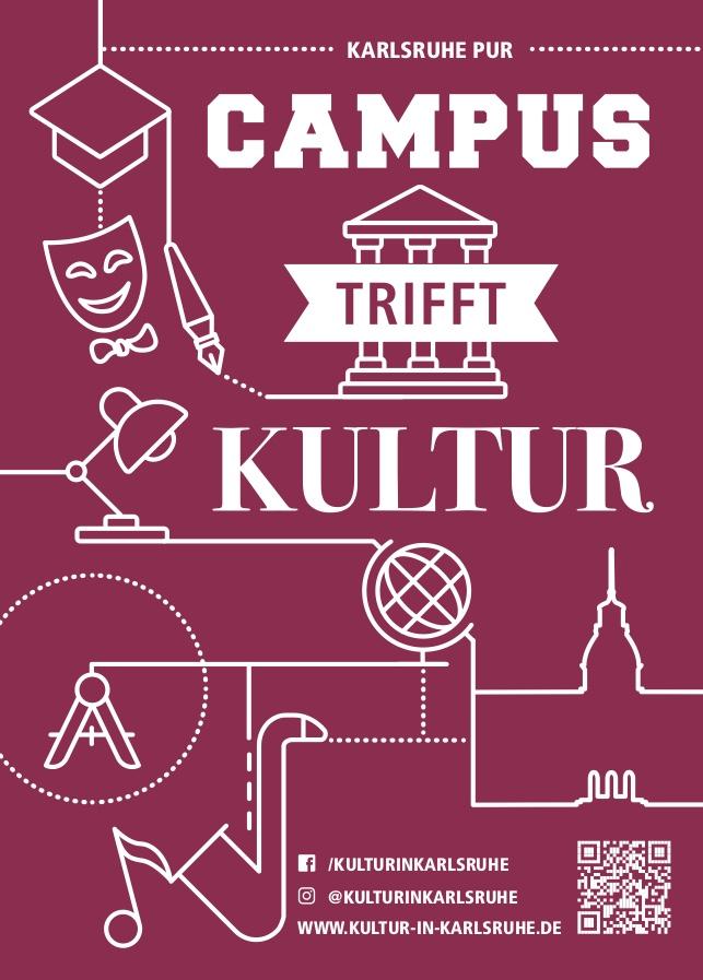 Plakat Campus trifft Kultur
