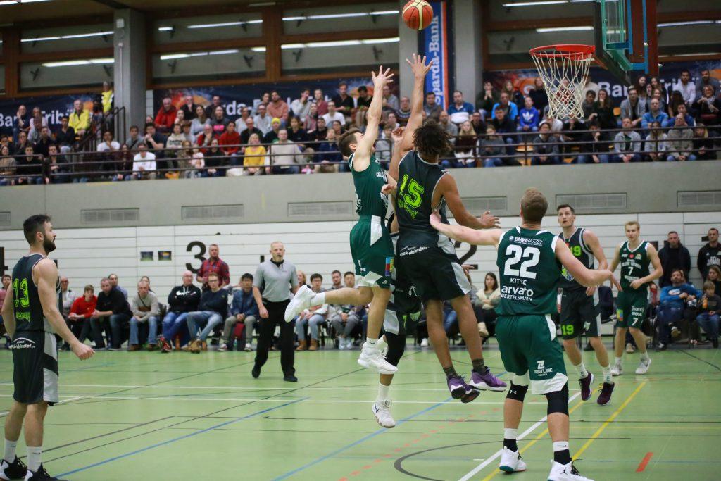 Basketball-Team im Spiel