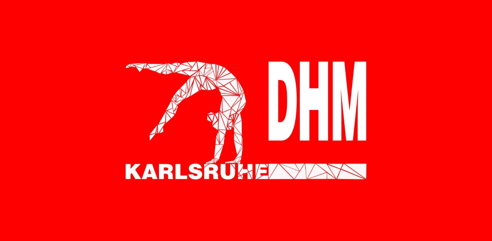 Logo DHM mit Turnerin