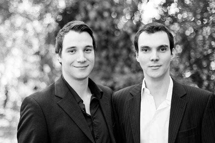 Porträtbild von Chris und Alex Schartel