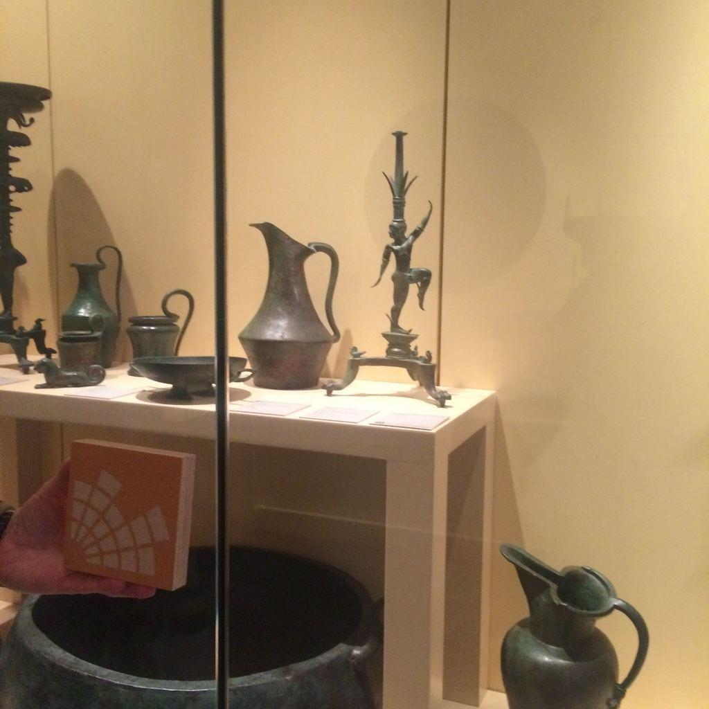Badisches Landesmuseum Karlsruhe - Ausstellungsobjekte der Etrusker-Ausstellung