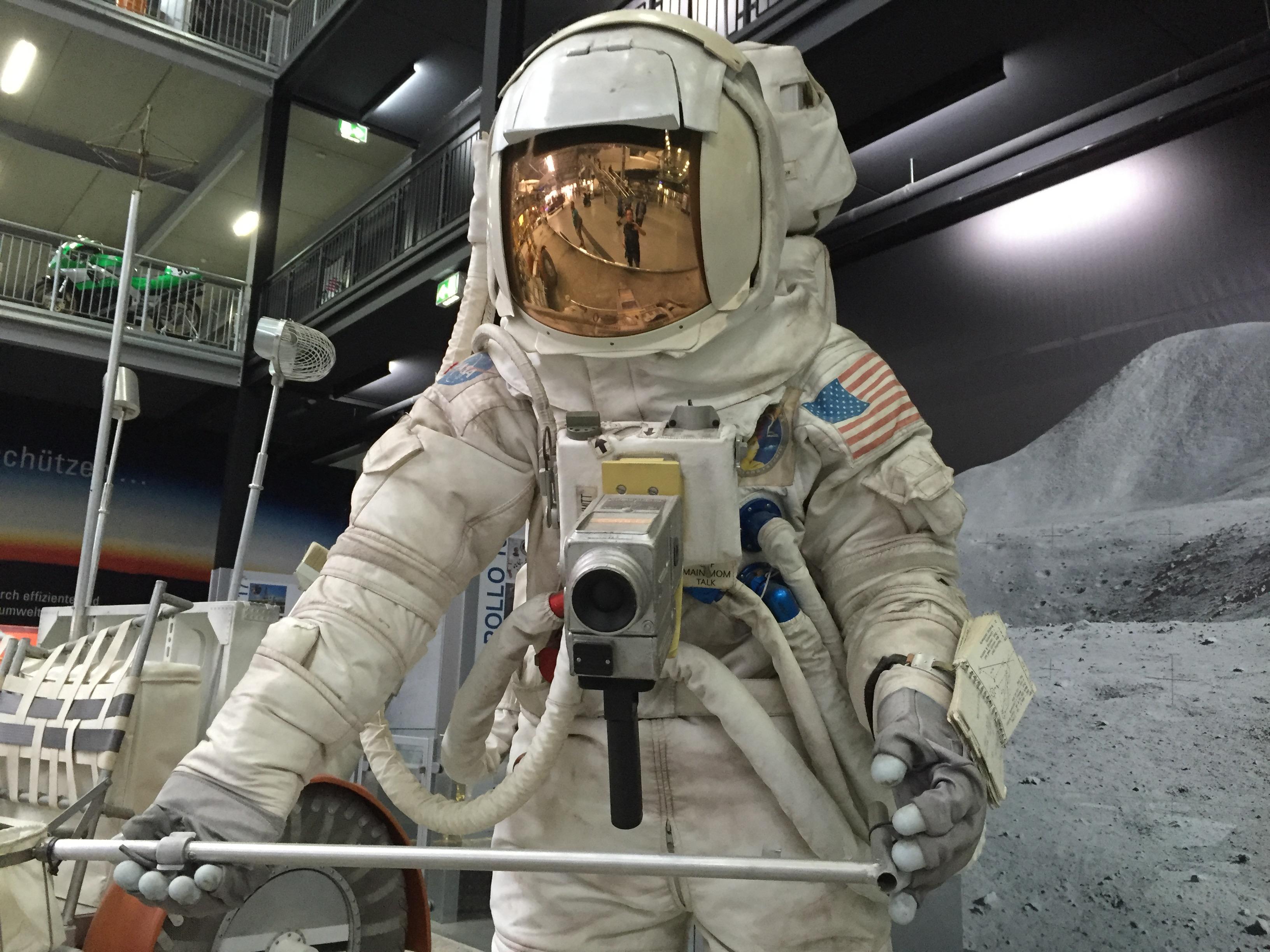 Anzug eines Astronauten