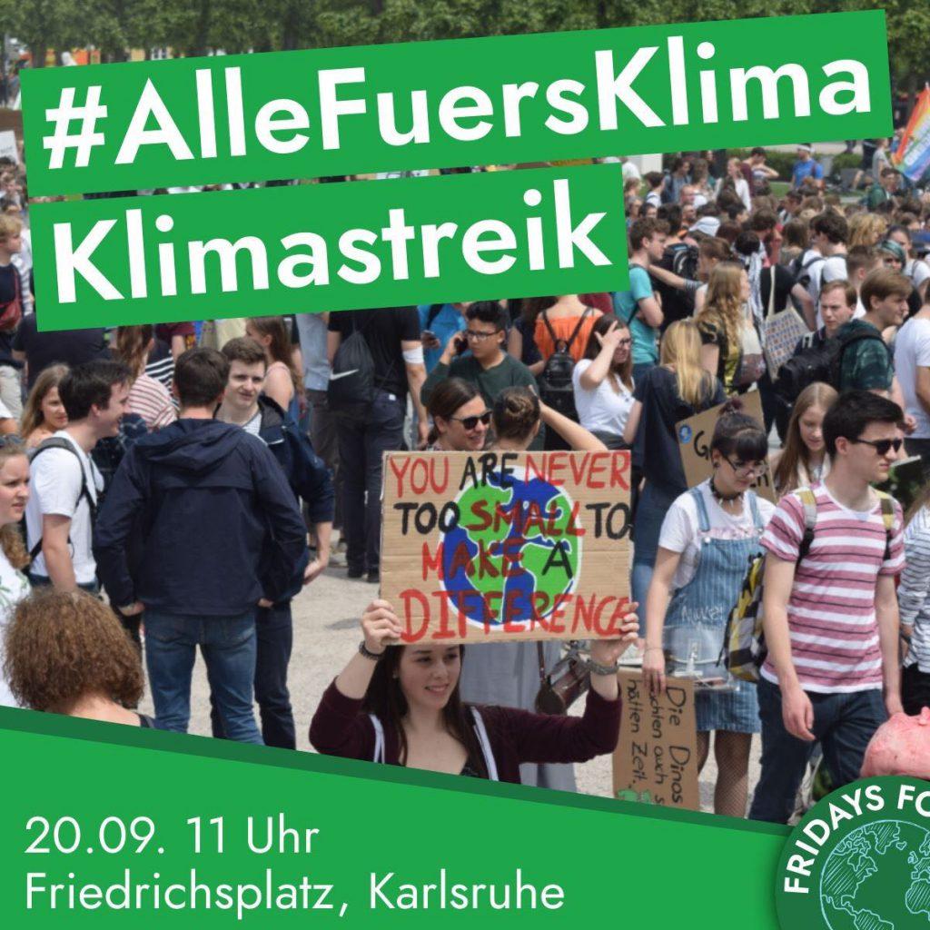 Demo von Fridays for Future
