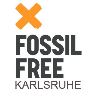 Logo Fossil Free Karlsruhe