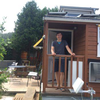 Stefan Fritz im tiny house
