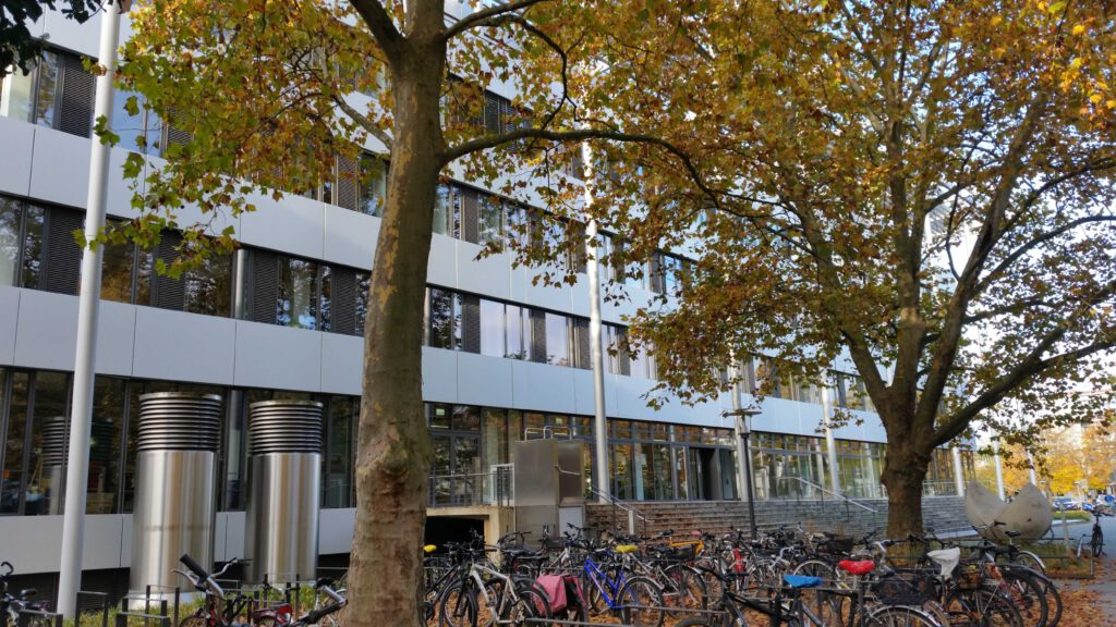 KIT Campus Süd Mathegebäude