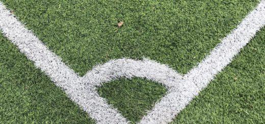 Ecke Fußballfeld